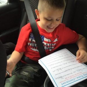 Printable Road Trip Activities-Make the car ride easier with these boredom buster books. From Bingo to I spy and all sorts of other fun activities. Perfect for your family vacation.
