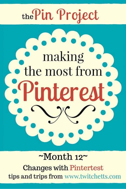 The Pin Project-Changes with Pinterest-Pinterest, and all social media is always changing. We're looking a couple of the newest changes in Pinterest and Tailwind