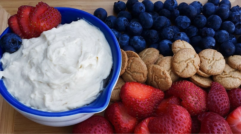 Make this quick cheesecake spread anytime you need a fast dessert. Made by mixing just 2 ingredients and can be served with anything on the side.