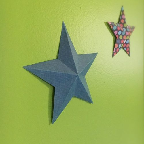 Inexpensive Nursery Wall Decor. An inexpensive way to create an alphabet collage plus decor for over the crib, that wont hurt the baby if it falls off the wall.