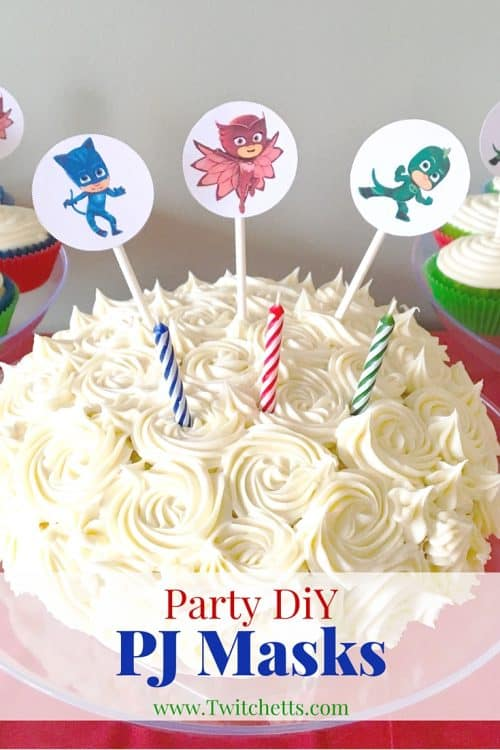 How To Make Easy Pj Masks Party Printables Twitchetts
