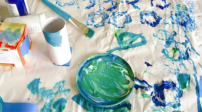 Painting with Toddlers ~ Our Best Tips
