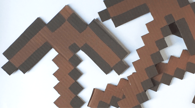 DiY MINECRAFT Pickaxe
