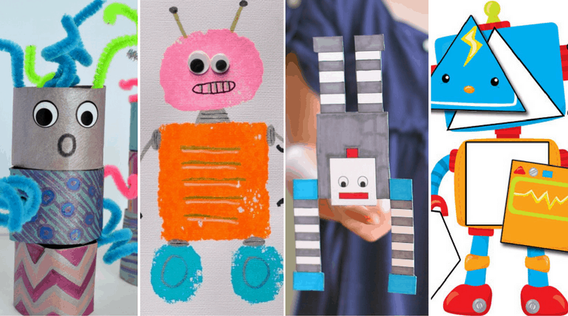 Fun with Robots Crafts & Activities for Learning