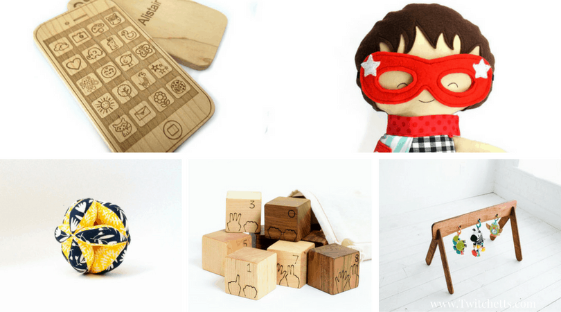 15 Handmade Gifts For Babies and Toddlers