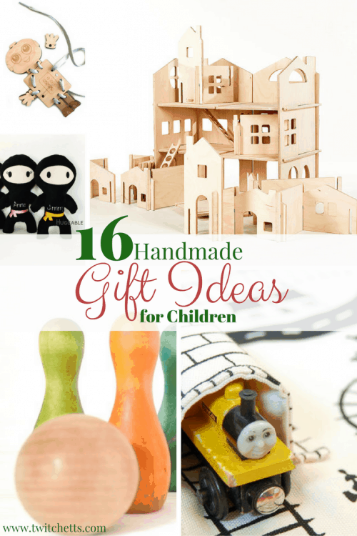 Handmade Gift Ideas for Children-A gift guide of unique kids gifts ideas from Etsy shops. Perfect gifts for Christmas, Hanukkah, Birthdays and any other gift giving celebration. Gift ideas for boys and girls.