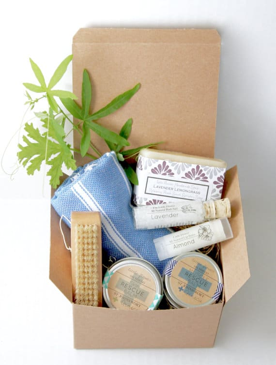 Gift Sets // LittleFlowerSoapCo
