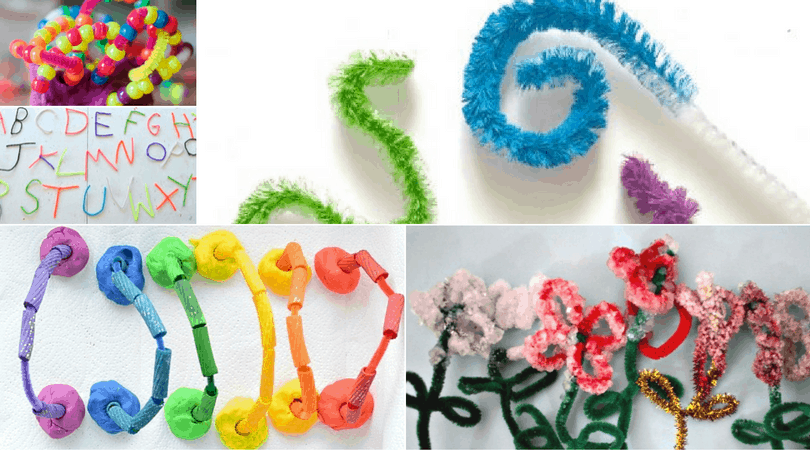 Pipe Cleaner Crafts and Activities