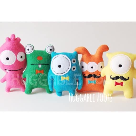 Stuffed Animals // TheHuggableHoots