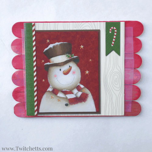 Grab a few Christmas cards together to make some of these fun craft stick puzzles! All you need are a few holiday cards and popcycle sticks. These Christmas card puzzles are a great kids activity you can pull out anywhere!