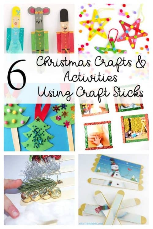 Christmas is the perfect time for crafting! Check out these fun Christmas craft stick activities and crafts!