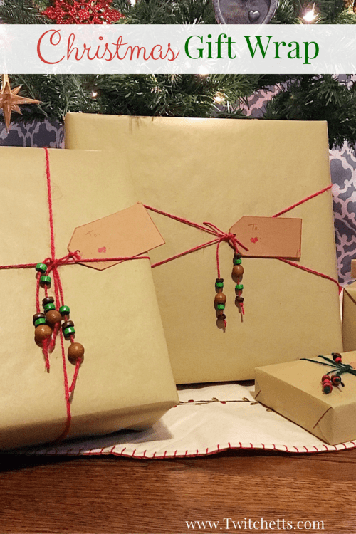 Christmas gift wrapping ideas-Finding fun wrapping paper for Christmas or birthdays is fun. This gift wrap is quick and inexpensive.
