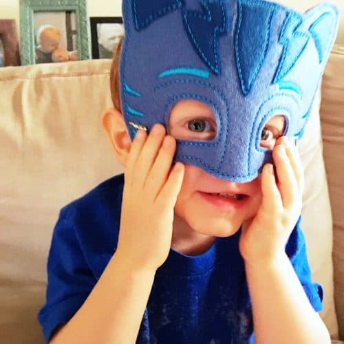 PJ Masks Costume Mask from Etsy