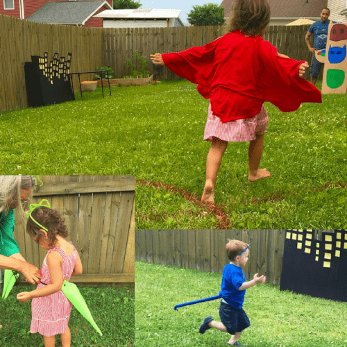 No Sew PJ Masks Costumes for a fun PJ Masks birthday party or halloween!