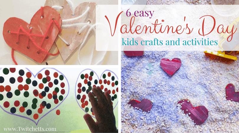 Valentine S Day Activities For Kids Twitchetts