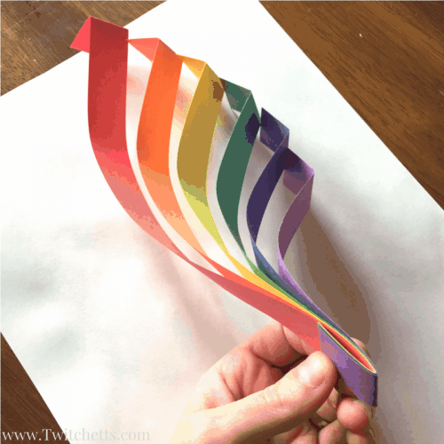 How to make simple 3D rainbow art that is amazing