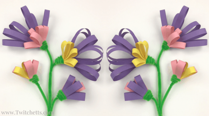 Construction Paper Fine Motor Flowers Video
