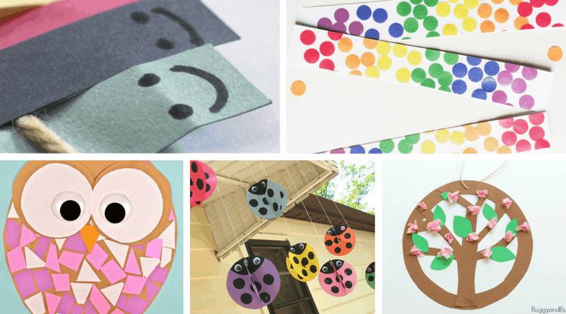 Construction Paper Crafts for kids. Get inspired with over 25 crafts and construction paper activities for children. Preschool through elementary.
