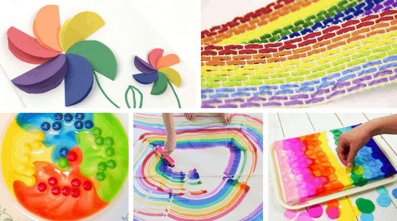 35+ Rainbow Crafts and Activities for Kids