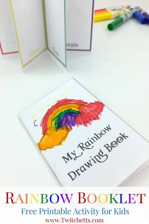 Printable Rainbow Booklet Teaching