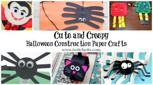 Halloween construction paper crafts are an easy way to get creative during this spooky season. These crafts are kids approved and loads of fun!