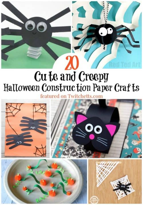 20 Easy Halloween Paper Crafts Kids Will Want To Make Twitchetts