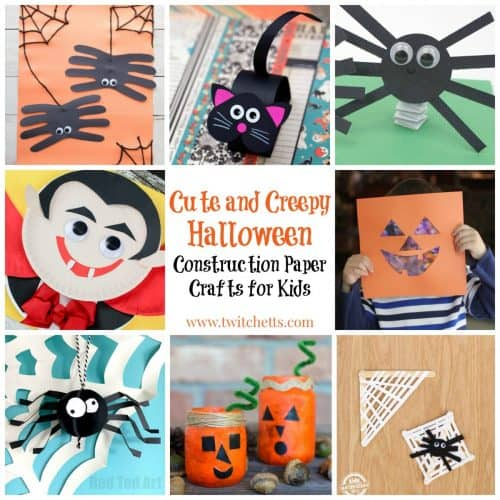 Paper Strip Pumpkin 18 Easy Halloween Crafts For Toddlers Quick