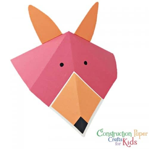 The Book Construction Paper Crafts for Kids is the perfect kids craft book and early reader activity. Work on scissor practice, fine motor, and learning to follow instructions, all while creating fun paper crafts!
