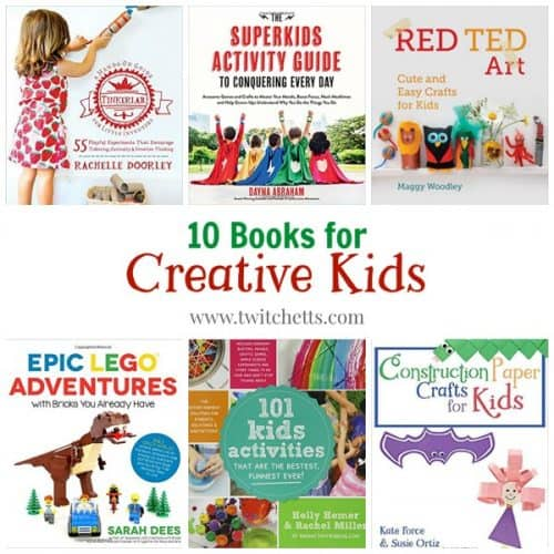 10 Books for creative kids. Find the perfect gift for a creative and imaginative child. From Christmas to birthday presents. These gift ideas of perfect for kids of all ages.