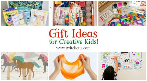 Find Gift Ideas for creative kids with this fun gift guide. From art and craft kits, toys for crafty kids, and art supplies that kids will love! Mark off the kids on your Christmas gift list or find the perfect birthday gift!