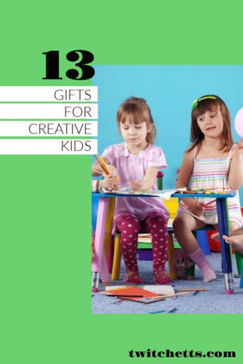 Gifts for creative kids #giftlist #creativekids #giftguide #twitchetts