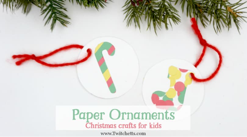 Christmas Ornaments Crafts.3 Easy Classroom Christmas Ornament Crafts Made With 1 Template