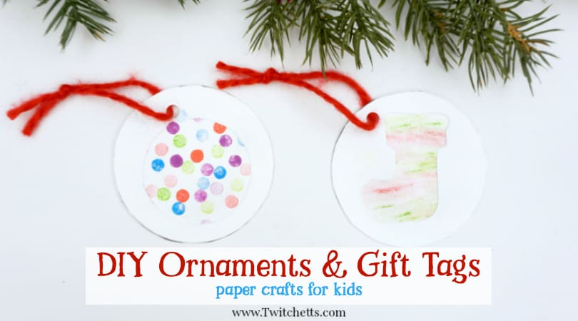 Christmas Gift Tags For Kids.4 Easy Christmas Gift Labels For Kids To Make Twitchetts