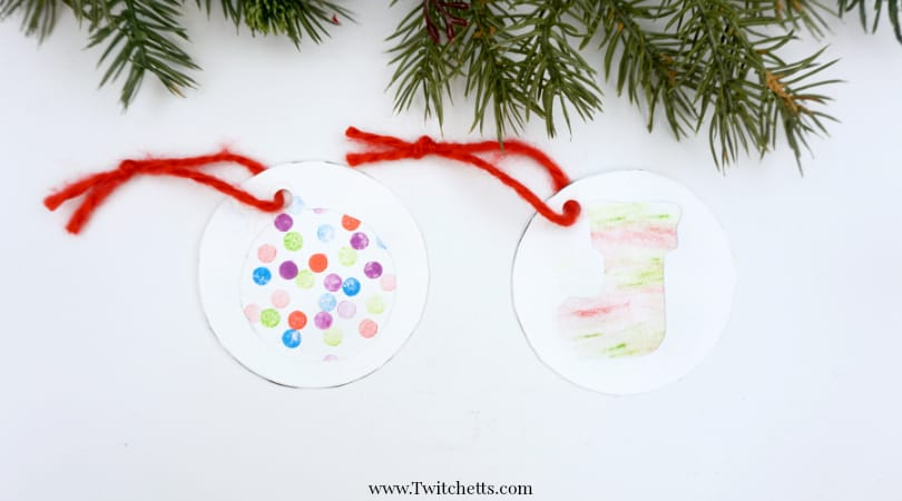 DIY Christmas Gift Labels ~ Christmas Crafts for Kids
