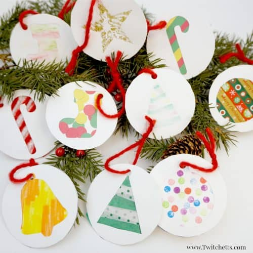 Diy Christmas Gift Labels Christmas Crafts For Kids Twitchetts