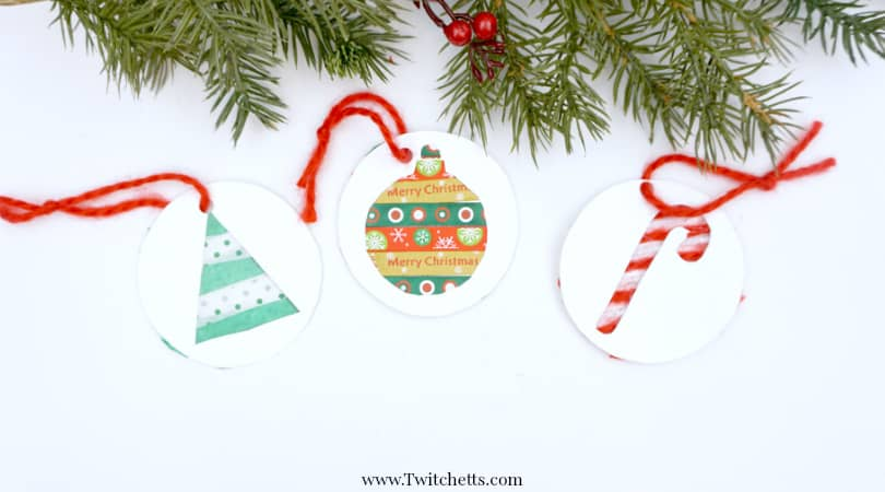 Paper Holiday Ornaments ~ Christmas Crafts for Kids