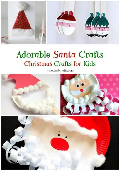 Create adorable Santa Claus crafts with these Christmas crafts for kids.