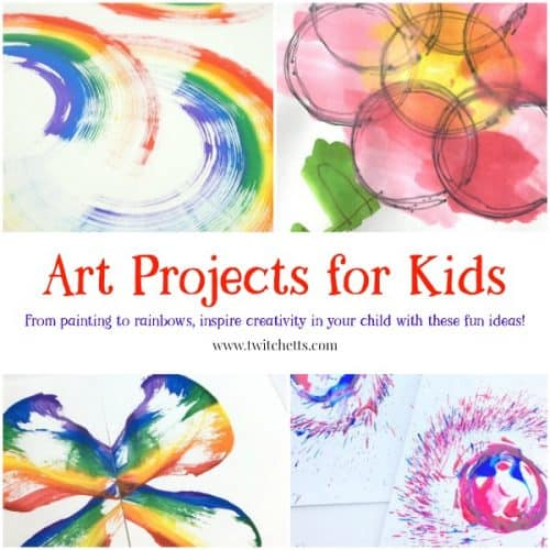 a collection of art projects for kids twitchetts