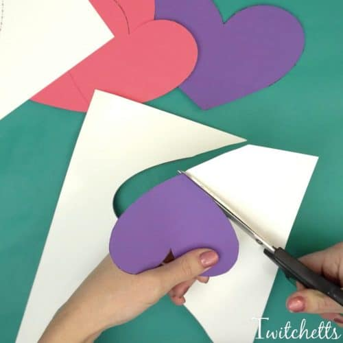 This 3D Valentine's Day Card will wow, with very little effort. And since we use construction paper, they cost next to nothing. They're perfect for passing out to friends or giving to loved ones.