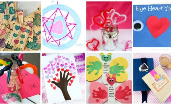 This collection of homemade Valentine's Day gifts will have your kids super excited to pass them out to friends or give them to loved ones. We hope you find a project perfect for your little ones!