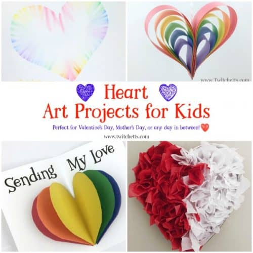 Heart Art Projects That Kids Will Love To Create And Give