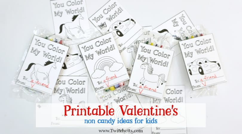 Printable Valentine S Day Cards To Color You Color My World
