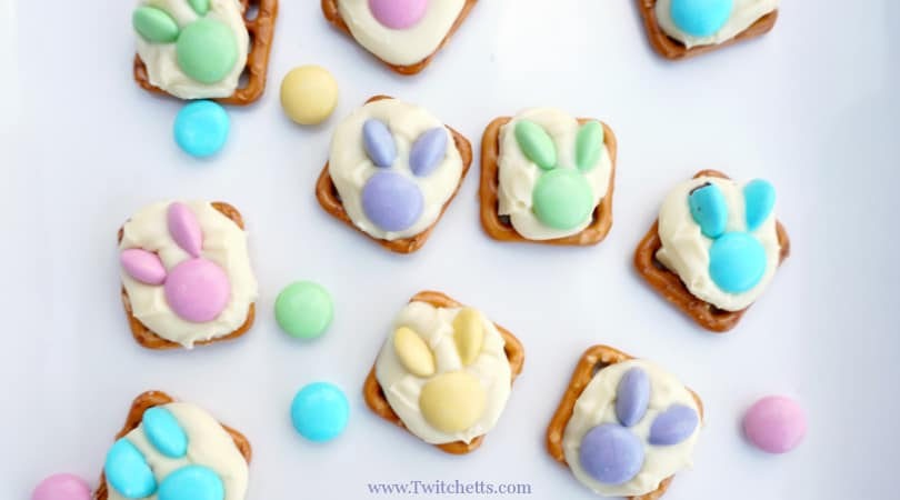 How to make adorable Easter bunny snacks