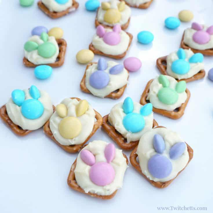 Easter Bunny Snacks