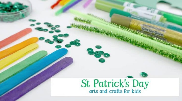 6 fun St Patrick's Day arts and crafts ideas for kids