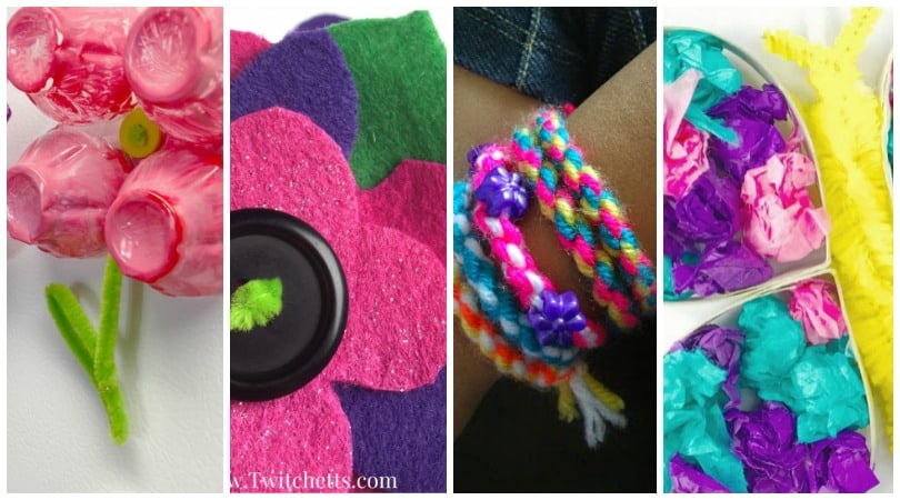 Crafts for Girls ~ Inspire your little girl with these amazing crafts!