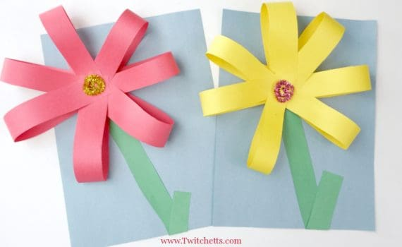 Create giant paper flowers with simple supplies and fine motor skills. Your kids will be proud of this fun construction paper craft!