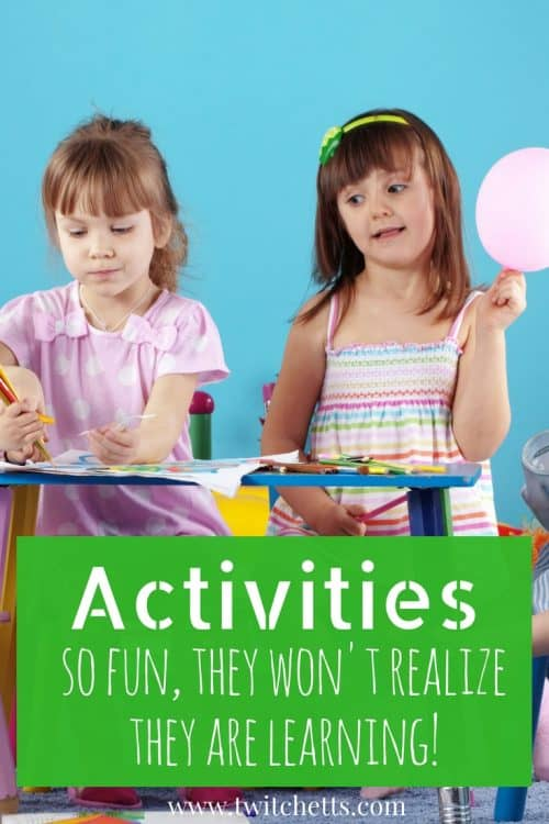 Activities for kids. So fun they wont even realized that it's play-based learning! #activitiesforkids #preschool #scissorskills #cuttingpractice #finemotor #grossmotor #playbasedlearning #learningthroughplay #twitchetts