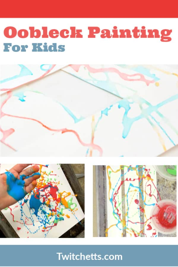 This processed art project is a great way to have some sensory play for your day too!