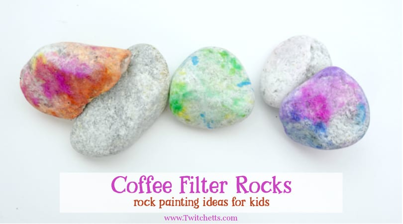 How To Use Coffee Filters To Make Amazing Rocks Twitchetts